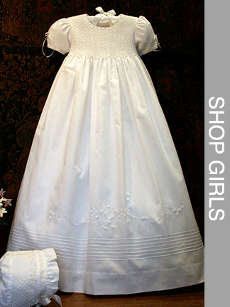 Pearls Baptism Gown