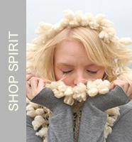 Spirit, ItsATwist, Scarf, Ivory