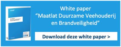 White paper Duurzame Veehouderij en Brandveiligheid
