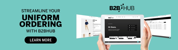 streamline your online uniform ordering with b2bhub