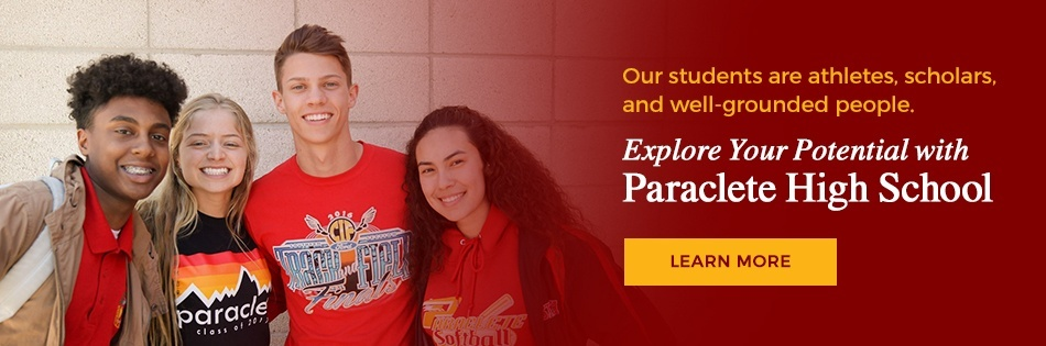 Our students are well-rounded people. Learn more about joining us at Paraclete!