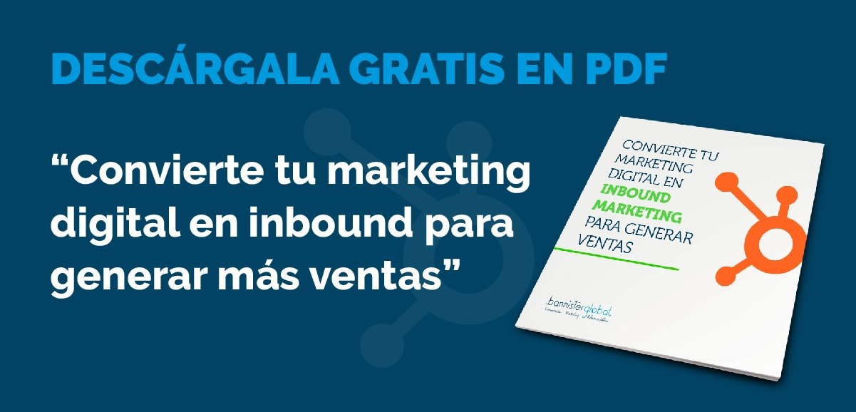 Descarga 'Convierte tu marketing digital en inbound marketing'