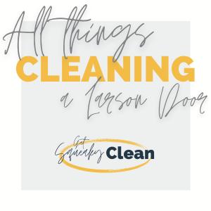 get squeaky clean doors