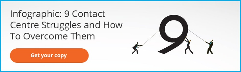 Infographic: 9 Contact Centre Struggles and How To Overcome Them