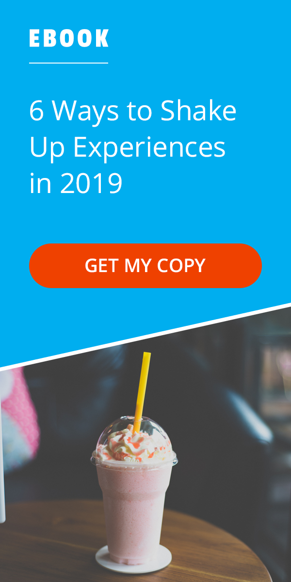 eBook - 6 Ways to Shake Up Experiences in 2019