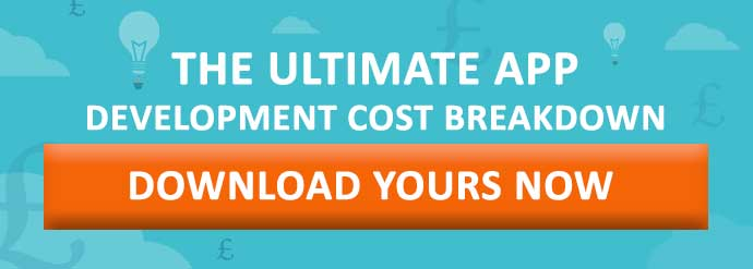 app development cost breakdown CTA
