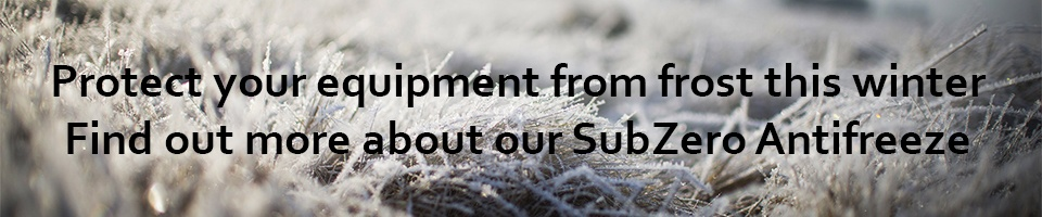 SubZero Antifreeze Protect Your Equipment