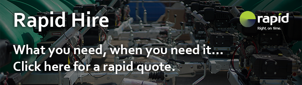 Rapid Hire - Flexible hire periods, simple no frills contracts. Corgin do the work, you enjoy the advantages.