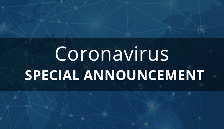 Manufacturing Coronavirus Announcement