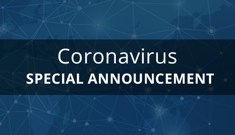 Manufacturing Coronavirus Announcement