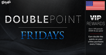 Double the VIP Points every Friday - Shop online at BigAlsPets.com