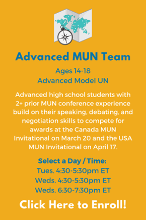 Click here to learn more about the High School Advanced MUN Team!
