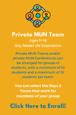 Click here to sign your students up for a Private MUN Team!