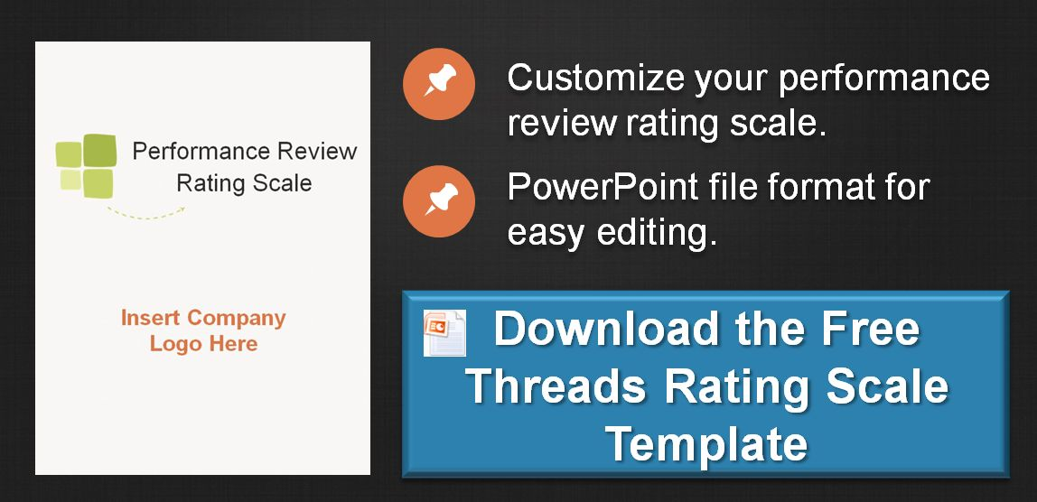 Performance Review Rating Scale Template : Threads