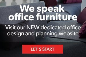 We speak office furniture – Visit our NEW dedicated office design and planning website