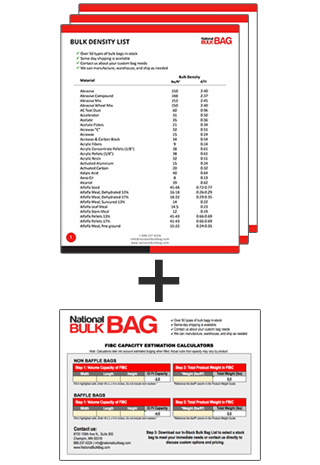 Bulk Density Reference Guide & Calculator - National Bulk Bag