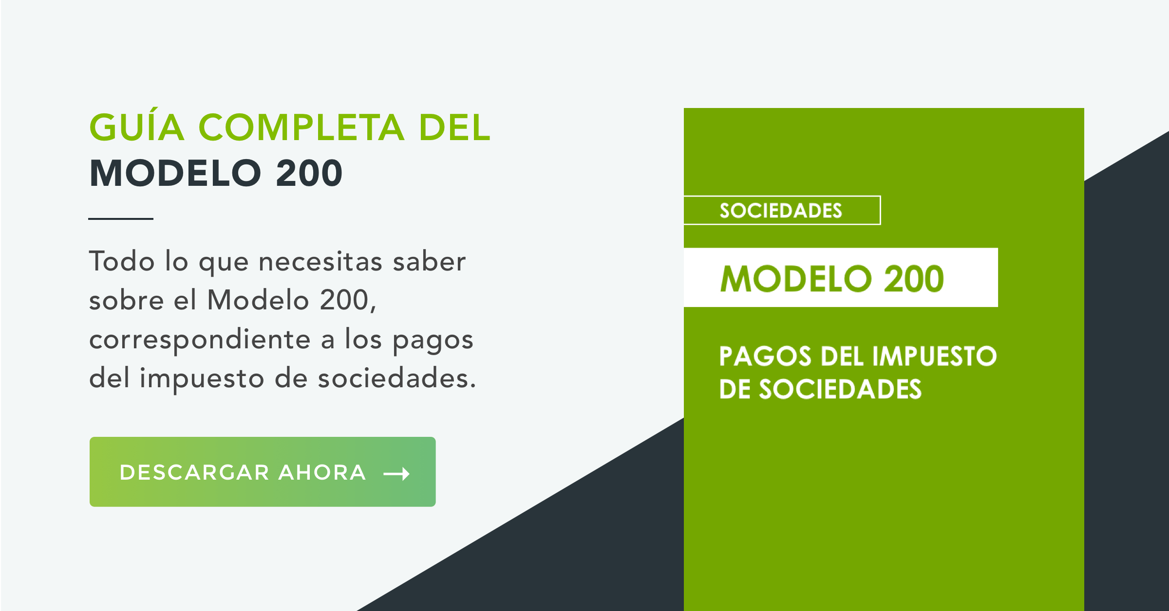 Modelo 200 Impuesto de Sociedades
