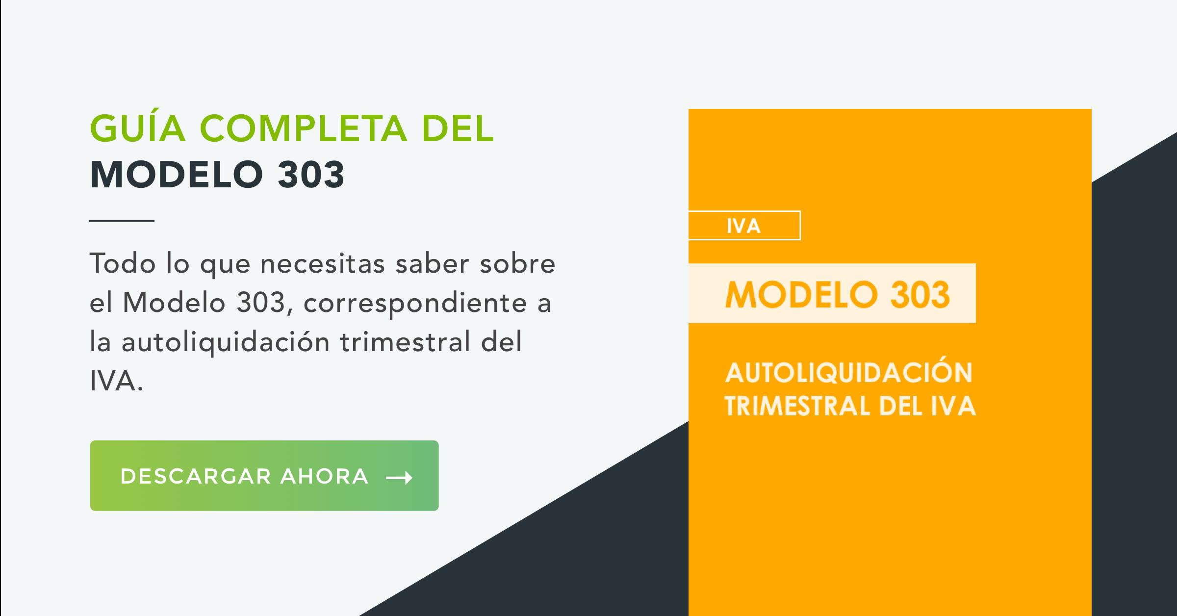 Modelo 303 IVA