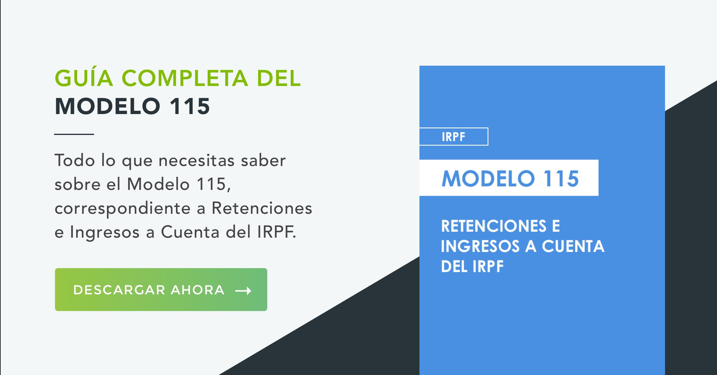Modelo 115 IRPF