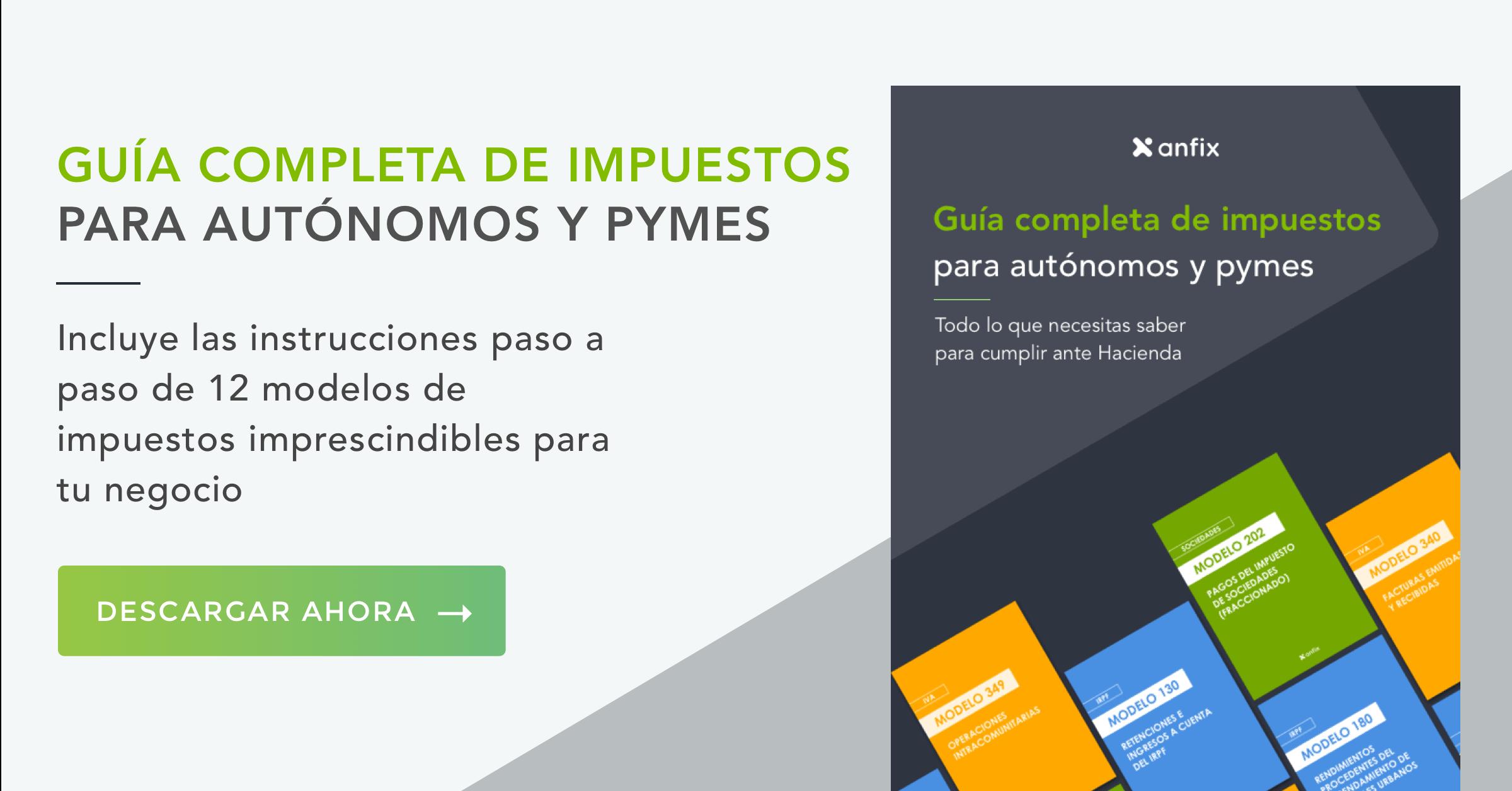 impuestos para autónomos y pymes