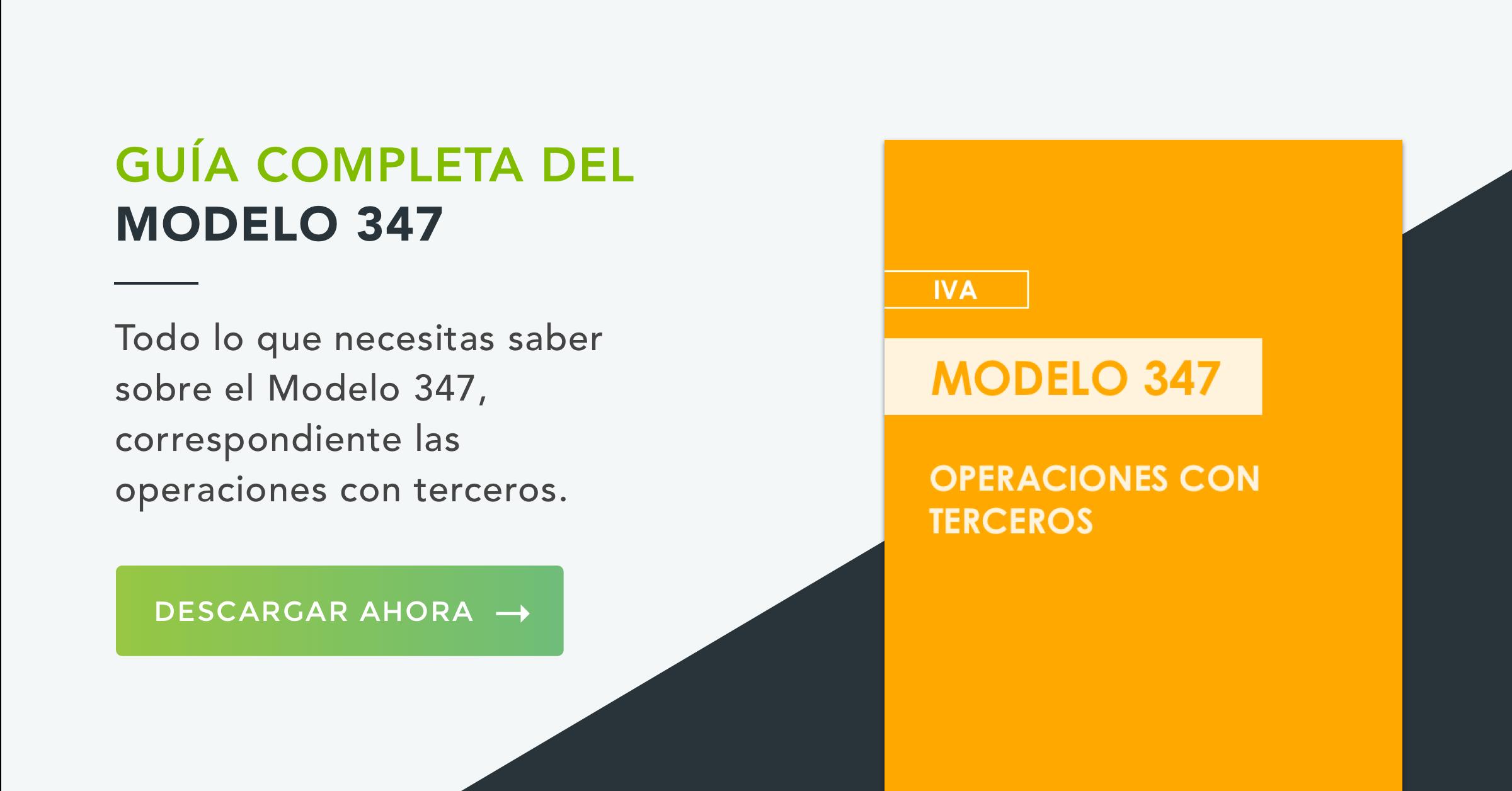 Modelo 347 IVA