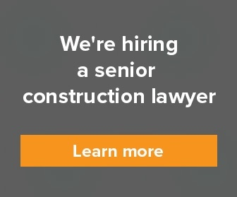 Senior construction lawyer