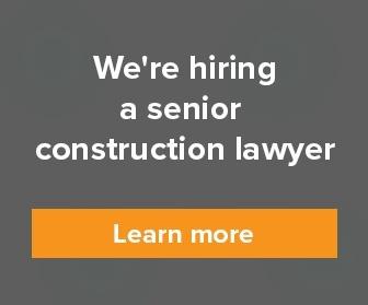 Senior construction lawyer
