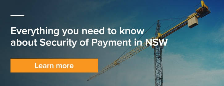 Security of Payment NSW