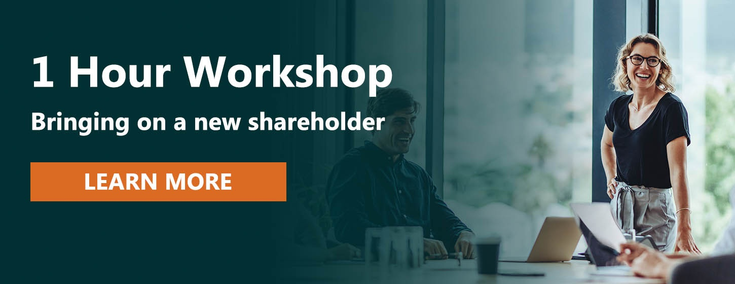 Investing in a private company workshop