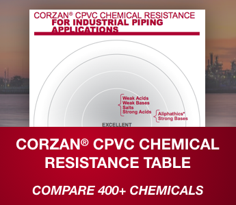 Corzan CPVC Chemical Resistance Table