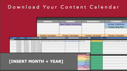 download your content calendar