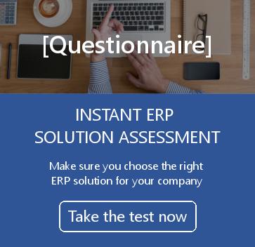 Instant ERP Solution Assessment