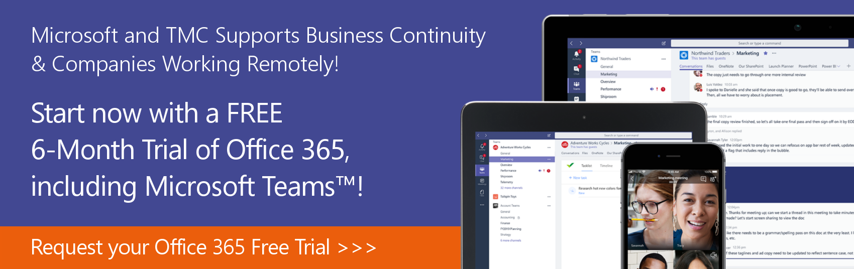Microsoft Teams Free 6-month Trial - Technology Management Concepts