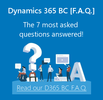 Dynamics 365 BC-The 7 most asked questions answered