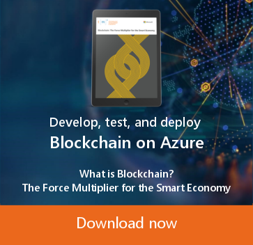 Develop, test and deploy blockchain on azure