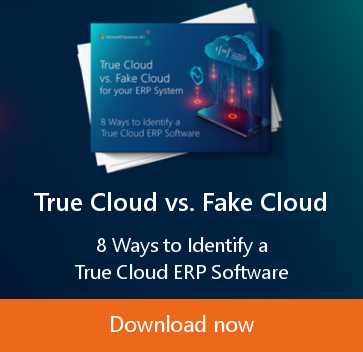 True Cloud vs. Fake Cloud for your Enterprise Resource Planning System