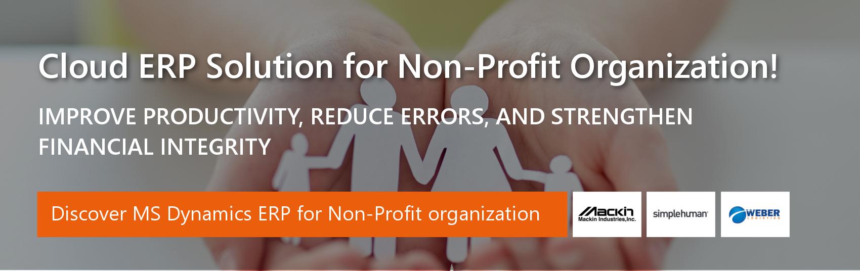 ERP for non-profit Businesses