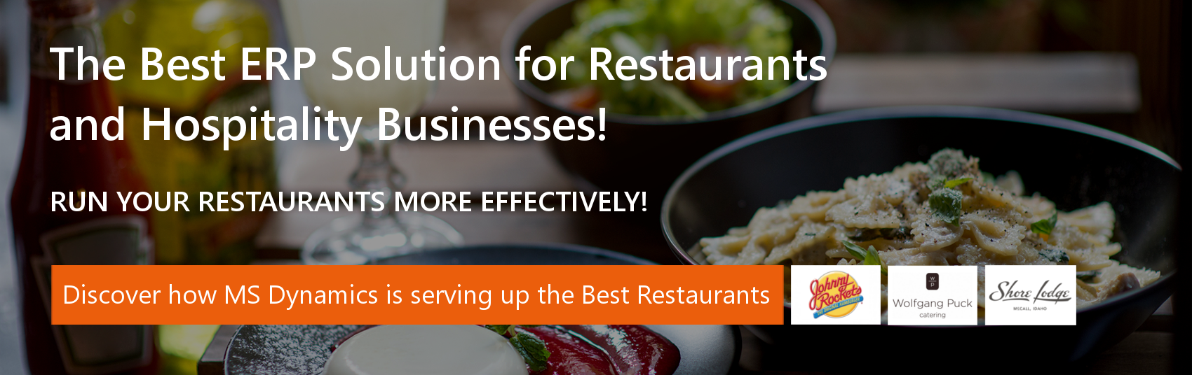 ERP for Restaurants and Hospitality Businesses