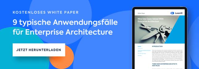 Kostenloses White Paper - Neun typische Anwendungsfälle für Enterprise Architecture