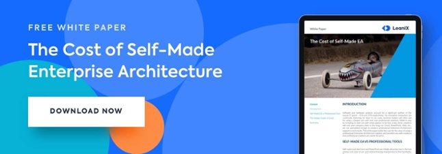The cost of self made enterprise architecture