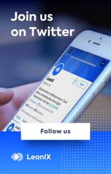 Social Media LeanIX EA Twitter