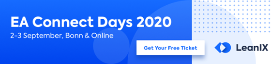 EA Connect Days 2020 - 2-3 September, Bonn & Online >> Get Your Free Ticket