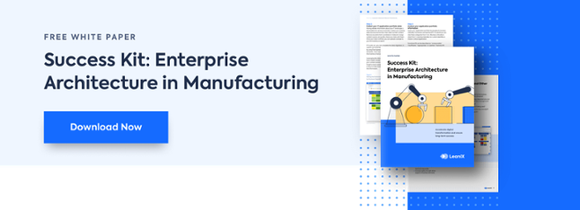 Success Kit: Enterprise Architecture in Manufacturing