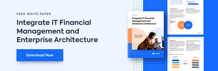 Integrate IT Financial Management and Enterprise Architecture