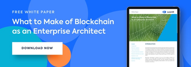 Blockchain and enterprise architecture