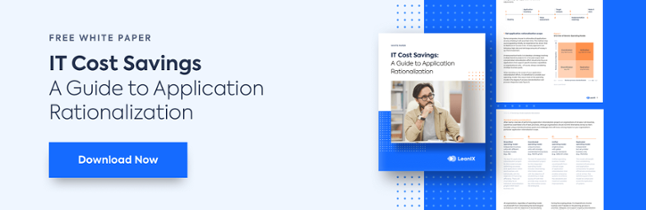 IT Cost Savings - A Guide to Application Rationalization