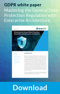 Mastering the General Data Protection Regulation with Enterprise Architecture