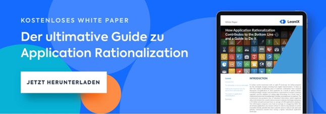 Kostenloses White Paper - Der ultimative Guide zu Application Rationalization