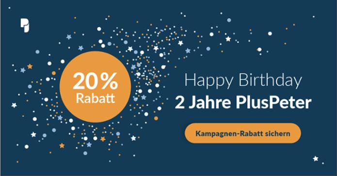 2Jahre-Geburtstagsrabatt-PlusPeter