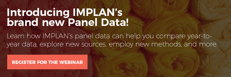 Introducing IMPLAN's brand new Panel Data!